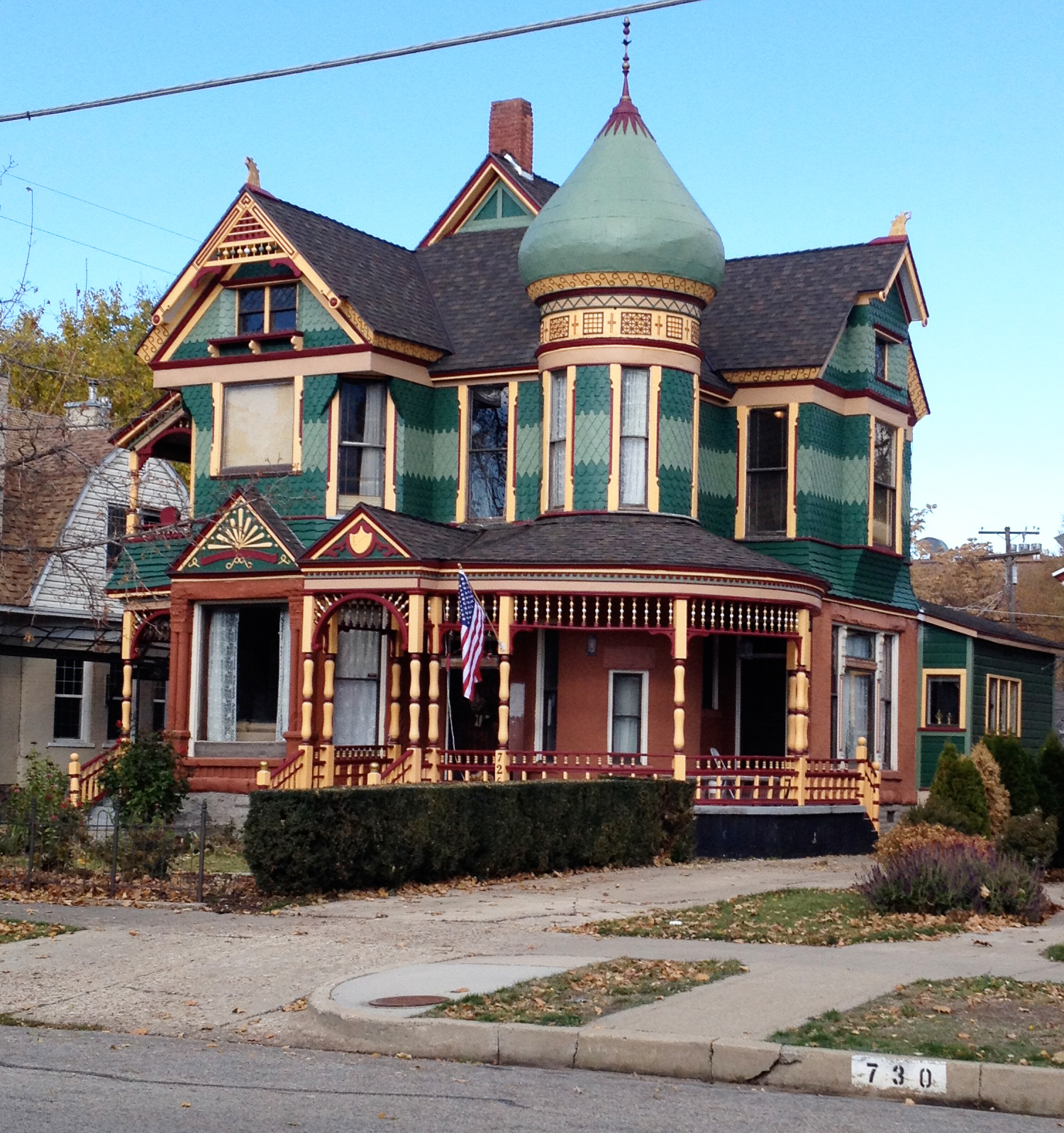 25th St Ogden Washington Blvd Historic Victorian