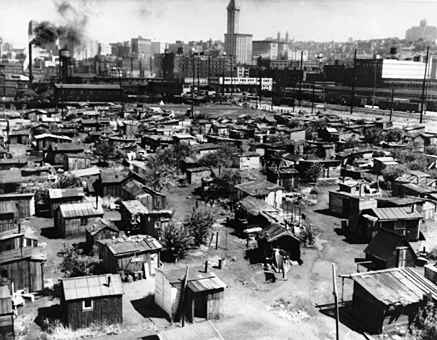 Hooverville Shanty Town